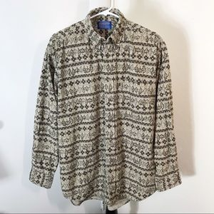 Pendleton Long Sleeve Corduroy Shirt
